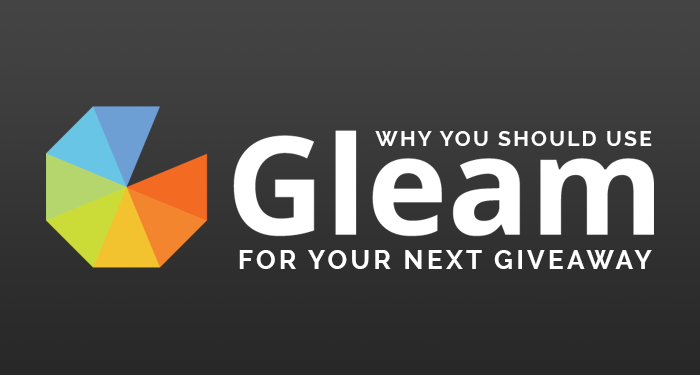 Why You Should Use Gleam For Your Next Giveaway | Kimi Who?