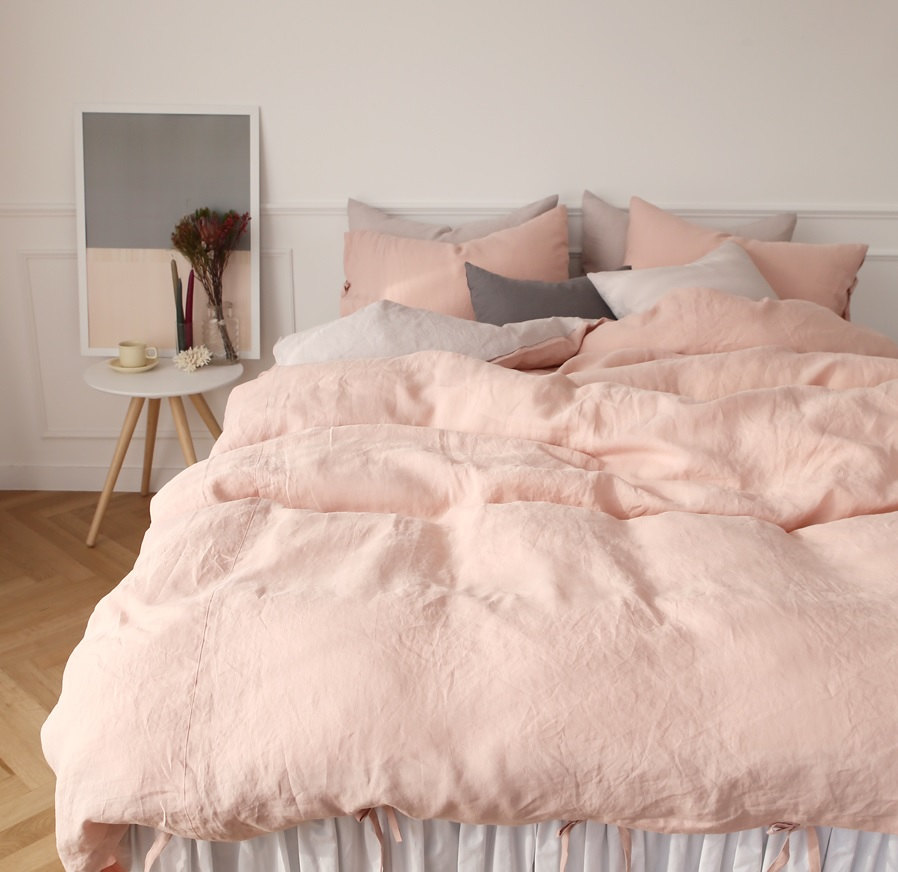 Finest In Search of the Perfect Blush Pink Bedding Set | Kimi Who? RV27